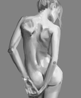 Digital Painting – anatomia