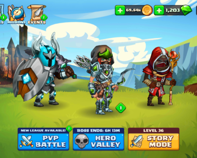 Tiny Gladiators 2 UX/UI